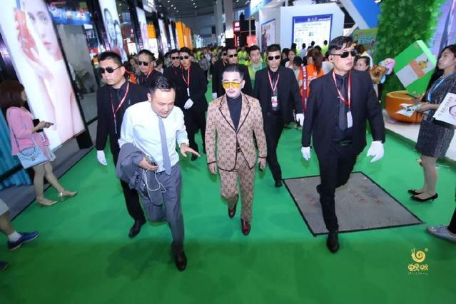 广州雅清带你直击上海美博会现场